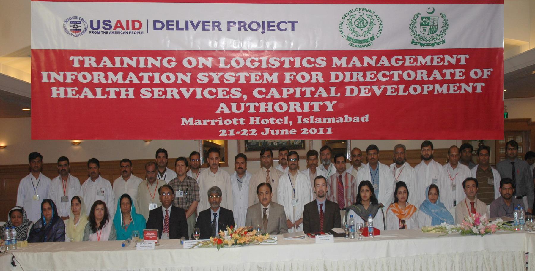 CDA & USAID distributes web-based logistics management